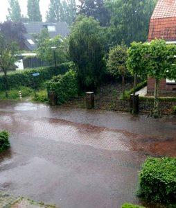 Wateroverlast Liempde (juni 2016)