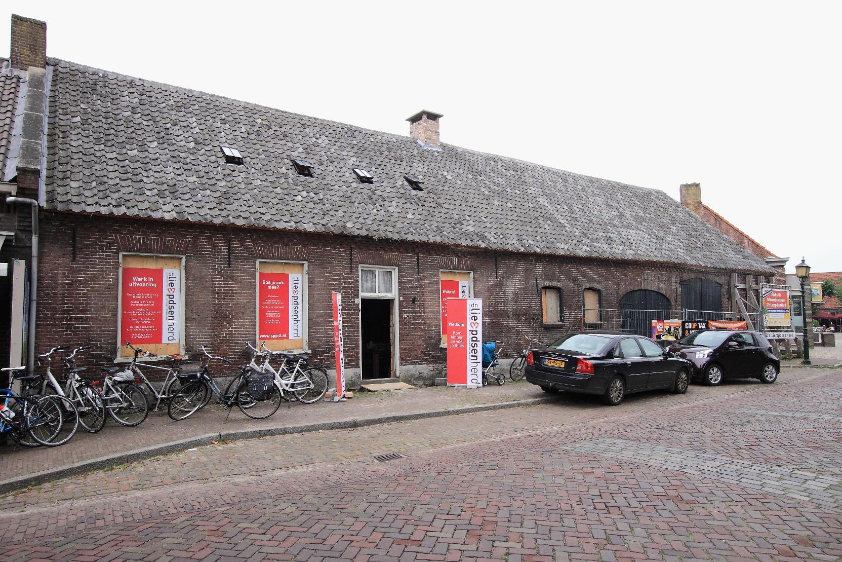 Toekomstig bezoekerscentrum D'n Liempdsen Herd Liempde